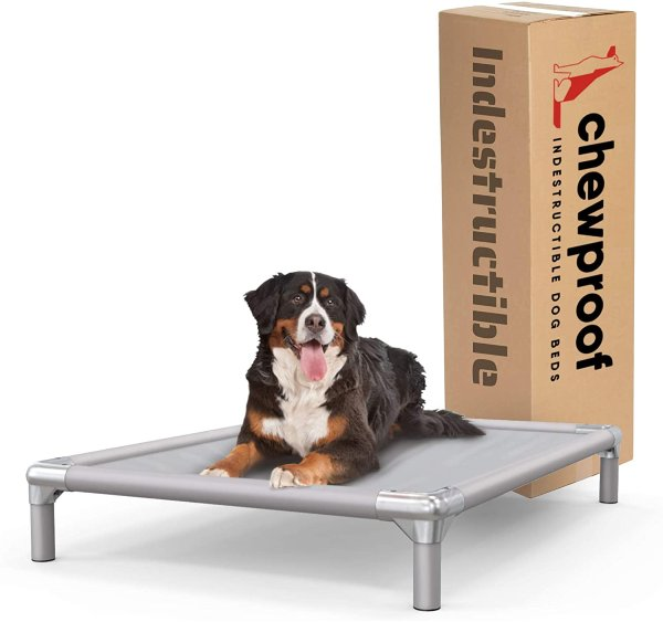 Chew proof indestructible bed for crate